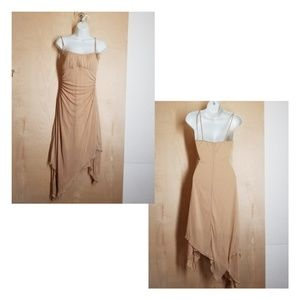 "👗 Ruby Rox Gold Glittery ""Disco"" dress"
